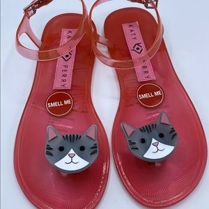 Katy Perry adorable size 7 Cat sandals new